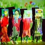 aus Theaterproduktion  @Home- Saidas Geschichte vom Fliehen und Ankommen